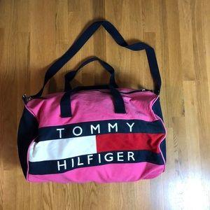 Vintage Tommy Hilfiger duffle bag